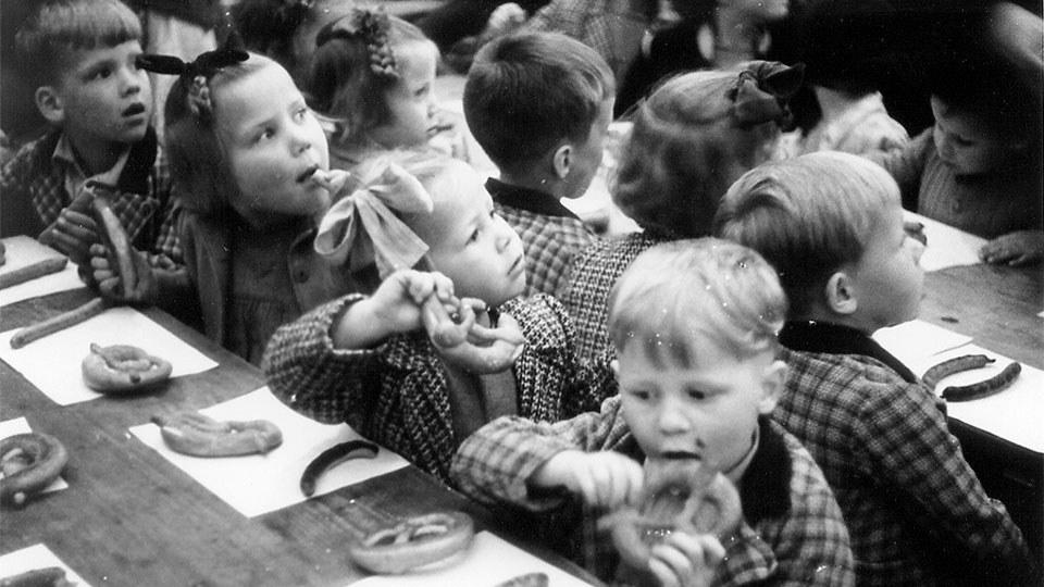 Plärrerbesuch 50er Jahre