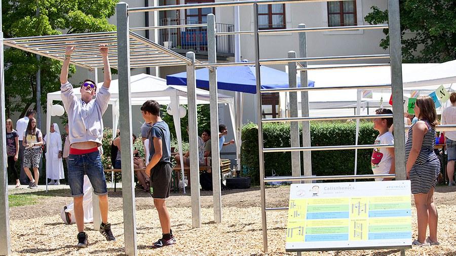 GOFUS e.V. und Langer-Stiftung ermöglichen Jugendlichen Sport in der Innenstadt